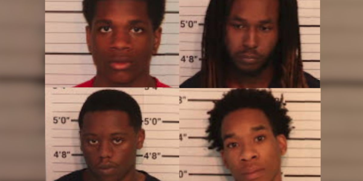 4 people indicted for murder, accused of deadly carjacking and multiple robberies in Memphis