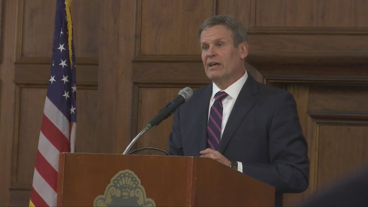 Gov. Bill Lee declares state of emergency as Tennessee battles coronavirus