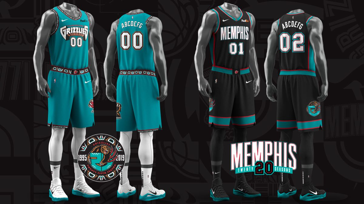 Social media erupts after Memphis Grizzlies unveil new 'Vancouver Classic Edition' uniforms