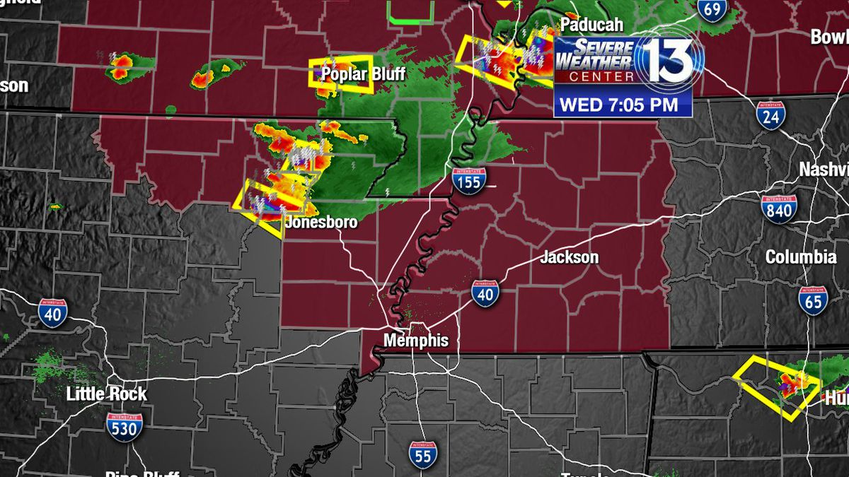 Tornado Watch in effect for much of the Mid-South