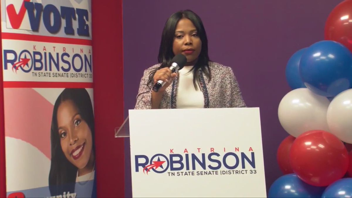 State Sen. Katrina Robinson charged with theft, could face up to ...