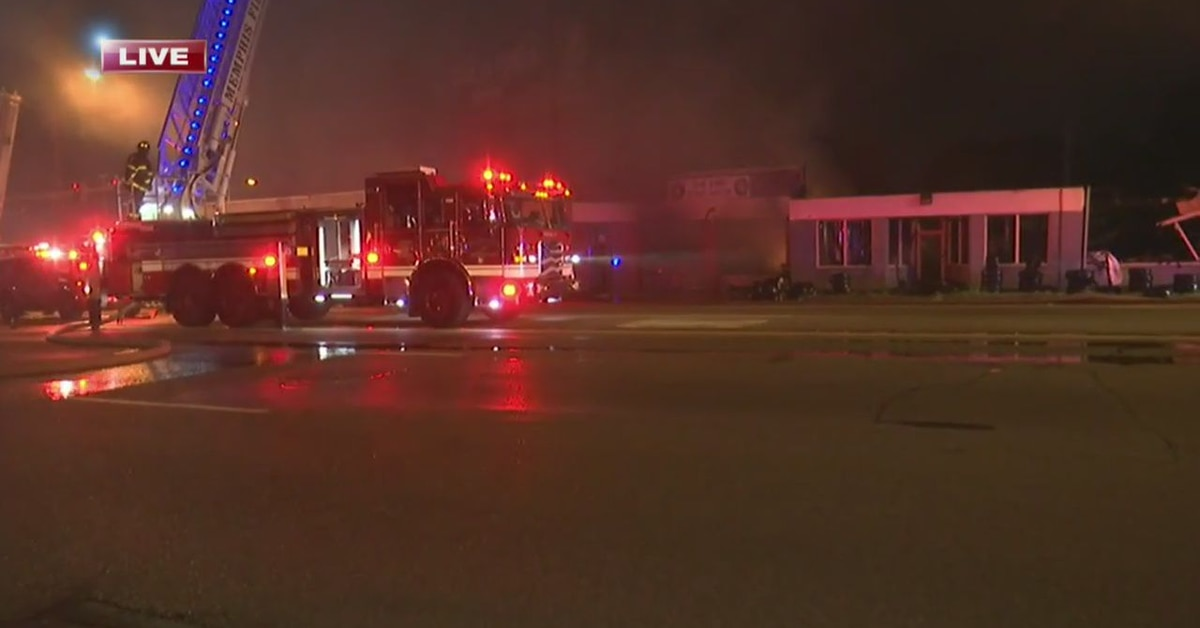 Fire at local tire shop was intentionally set, officials say