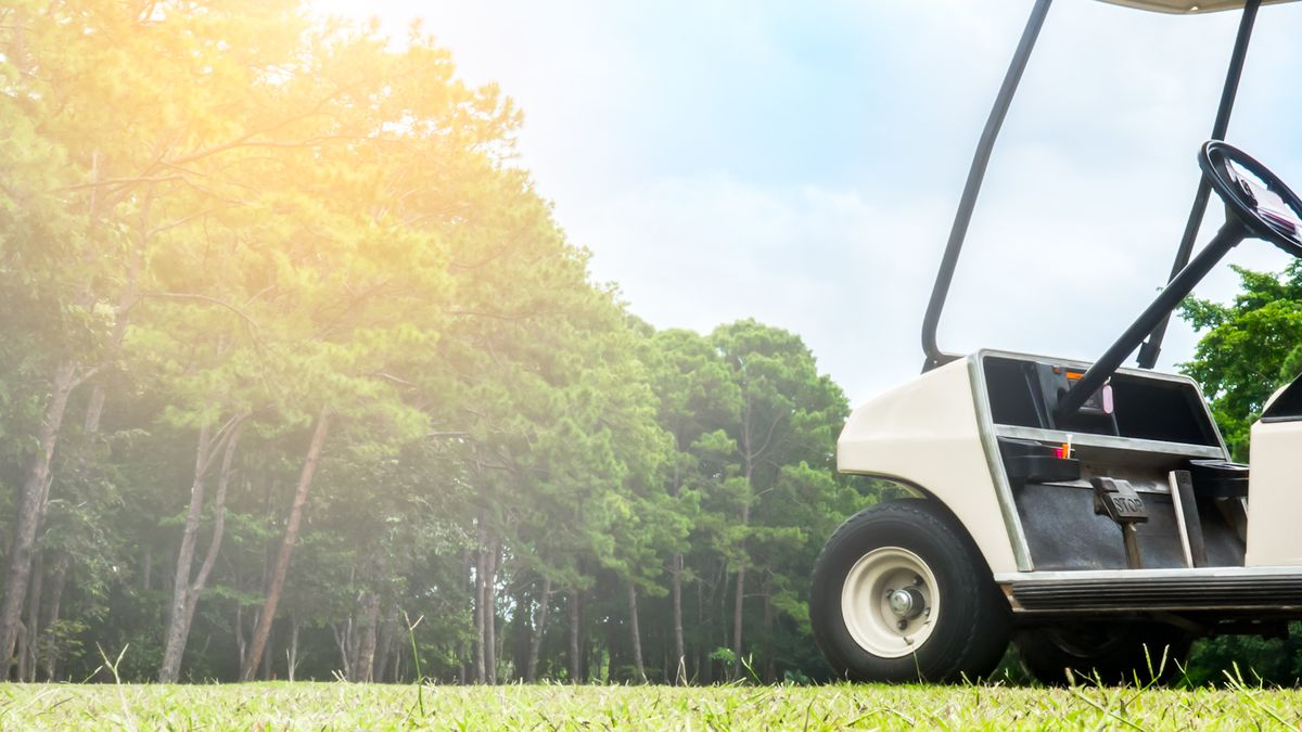 Juvenile in ICU after truck crashes into golf cart