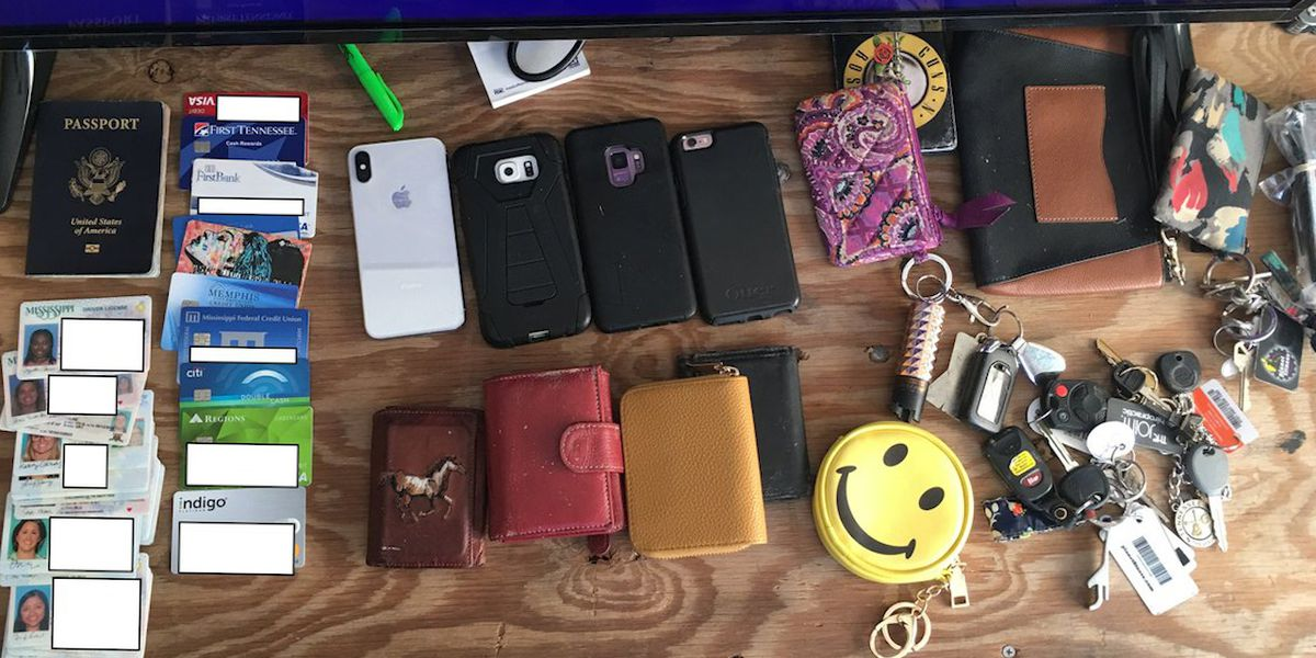 LOST AND FOUND: Police release photo of found items at Beale Street Music Fest