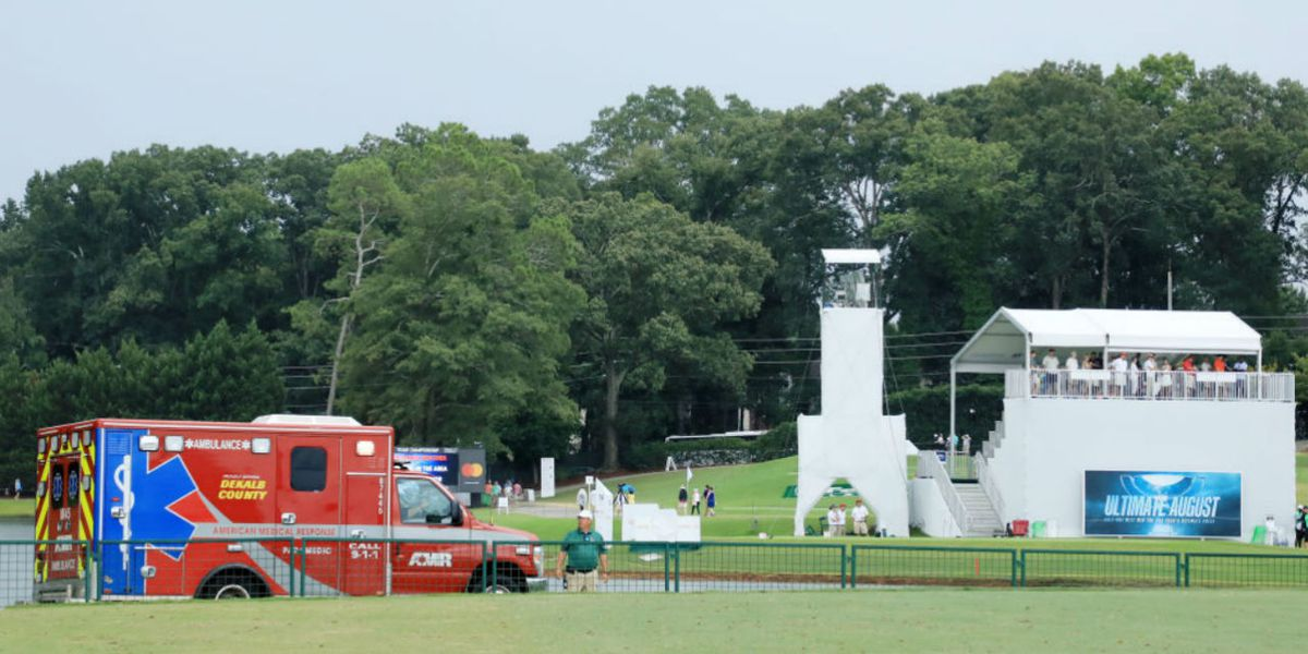 Multiple people injured by lightning strike at Tour Championship