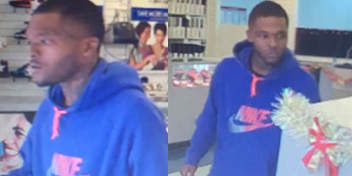 Man walks out with a laptop, police say