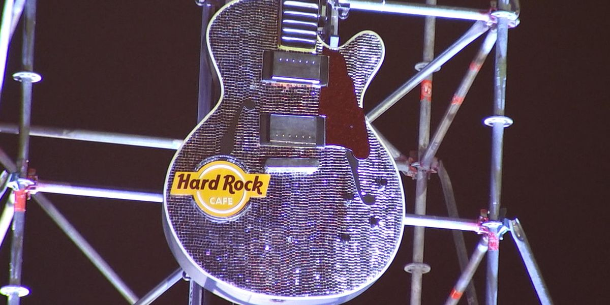 New Year's Eve Guitar drop on Beale Street to be replaced