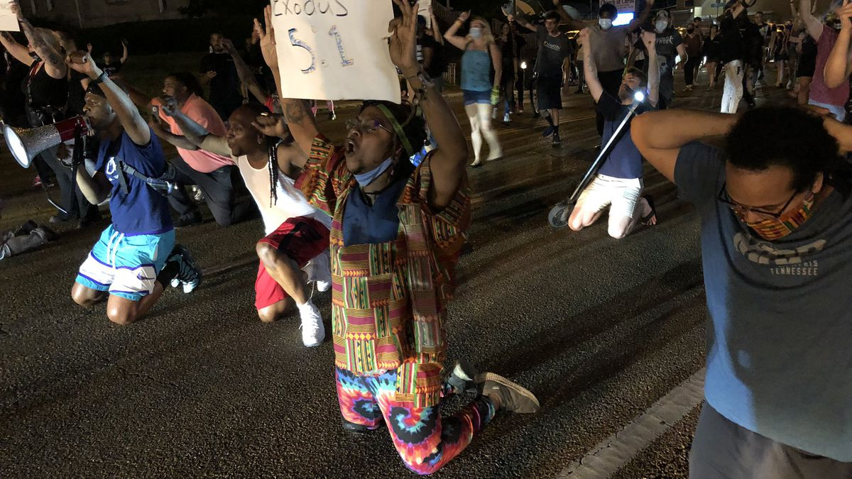 One month of Memphis social injustice protests