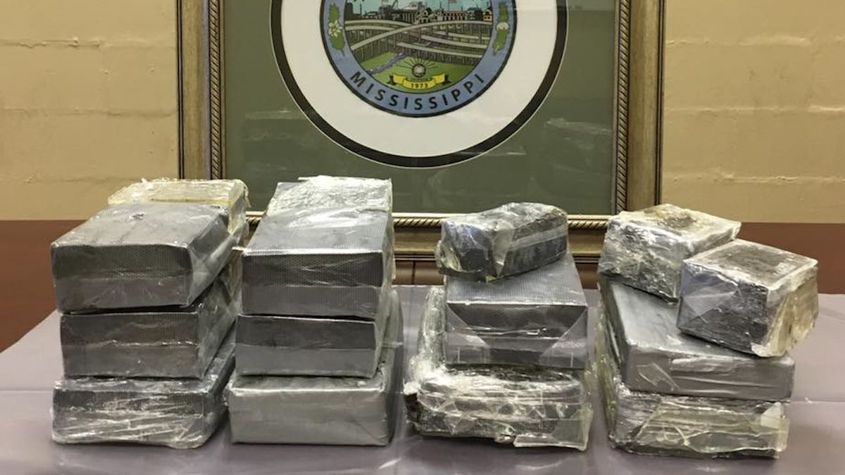 Traffic stop leads to $2.5 million drug bust in Mississippi