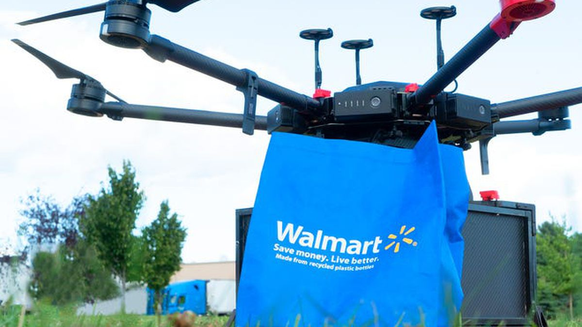 Coronavirus: Walmart to test drone delivery of at-home COVID-19 test kits