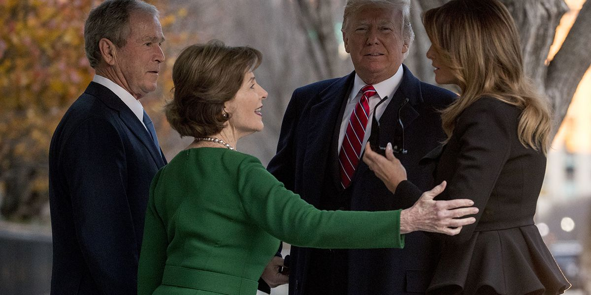 Former first lady Laura Bush thanks Melania Trump for 'sweet visit' to White House