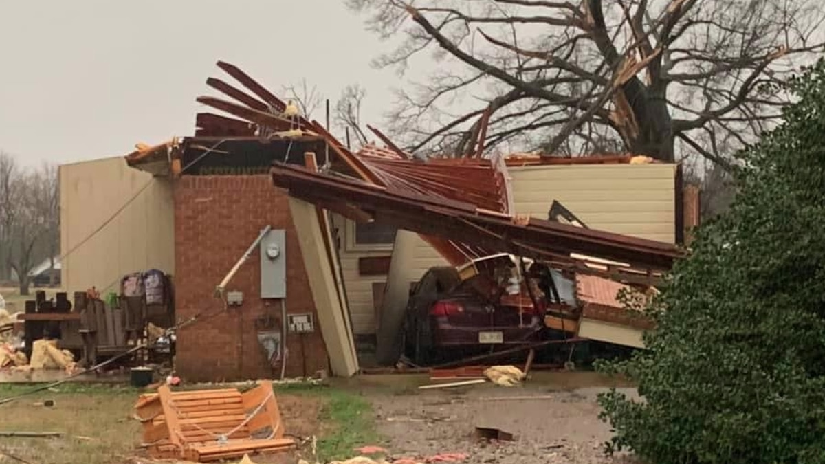 PHOTOS: Significant damage reported after storms rip the area