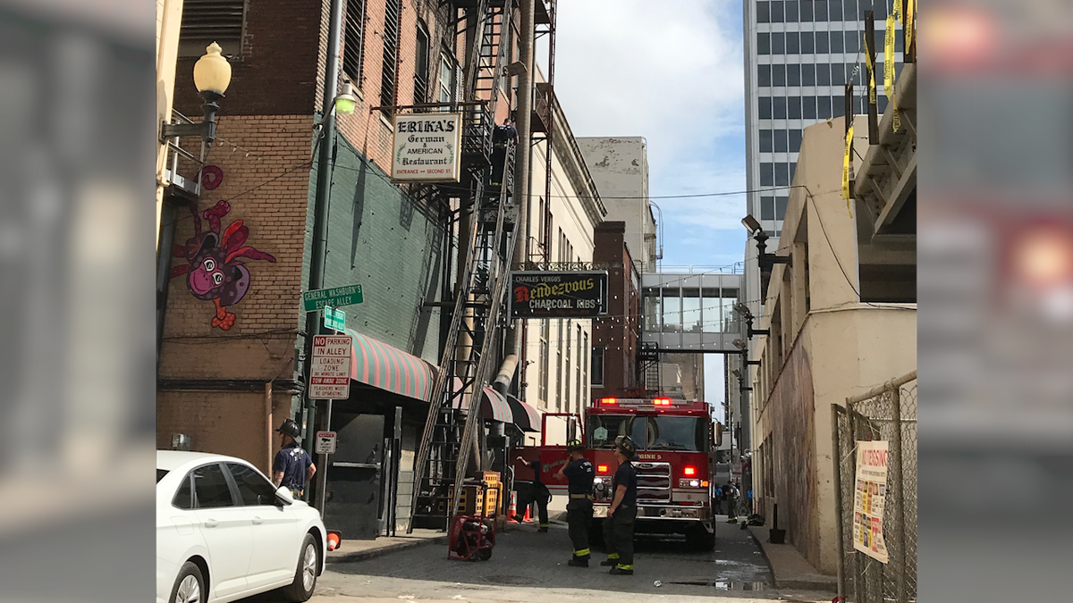 Fire reported at Rendezvous restaurant in Downtown Memphis, MFD says