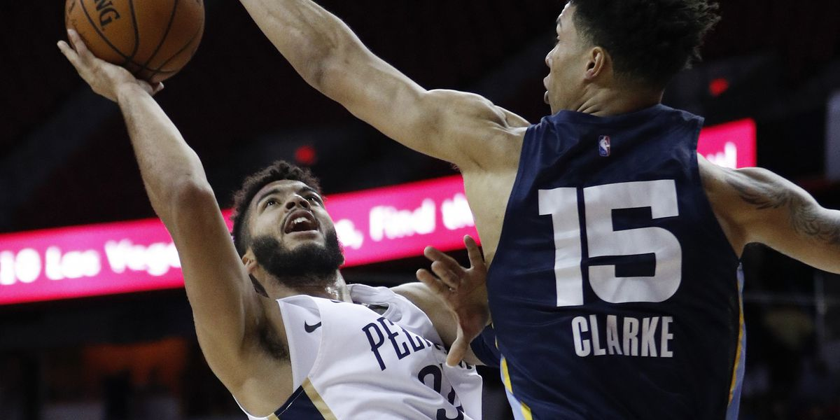 Grizzlies rookie Brandon Clarke quickly making name for himself after winning Summer League MVP
