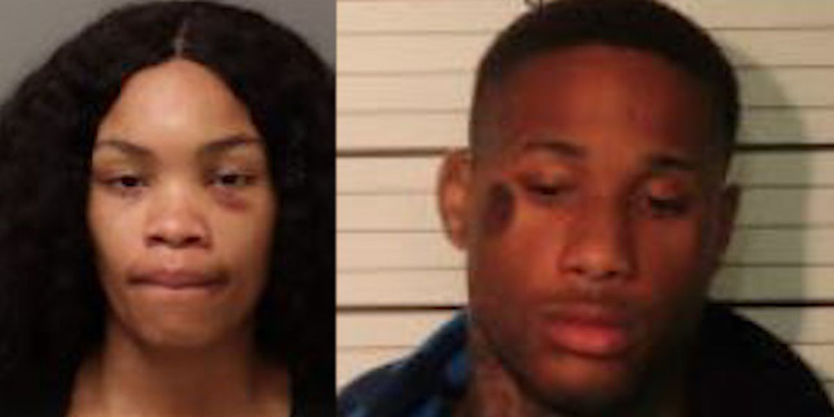 Two people facing aggravated assault charges after allegedly pointing gun at infant