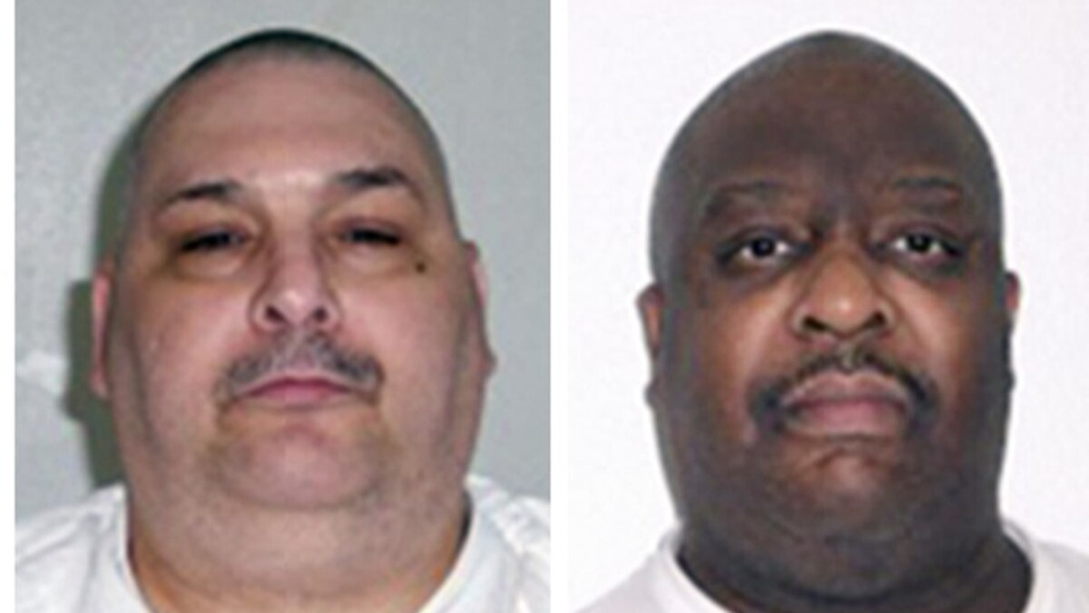Arkansas executions: Last meals and final words