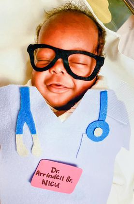 Baptist NICU shares patients Halloween costumes