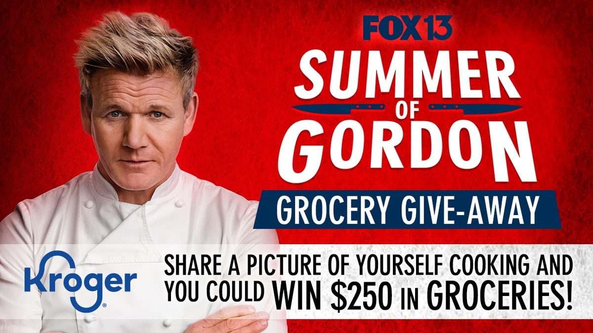 You could win a $250 grocery gift card during FOX13's Summer of Gordon Giveaway