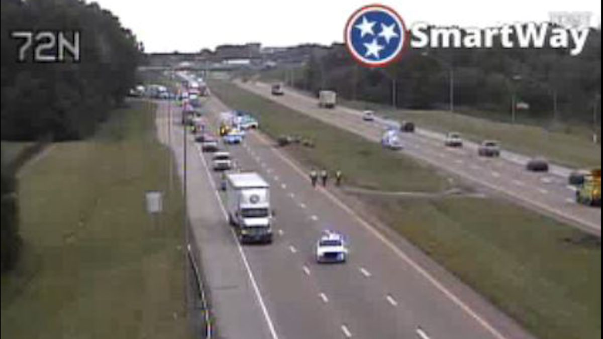 MPD responds to critical crash on I-55 and I-240
