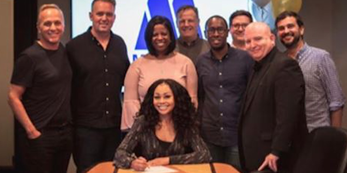 Winner of 'The Four', Evvie McKinney, signs record deal in Nashville